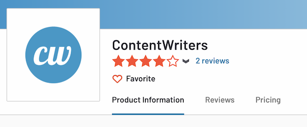 contentwriters reviews