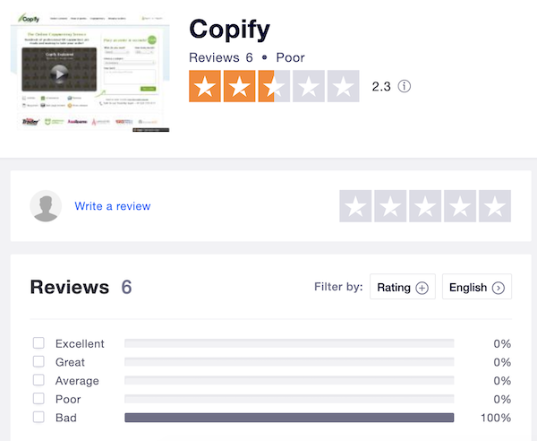 copify reviews