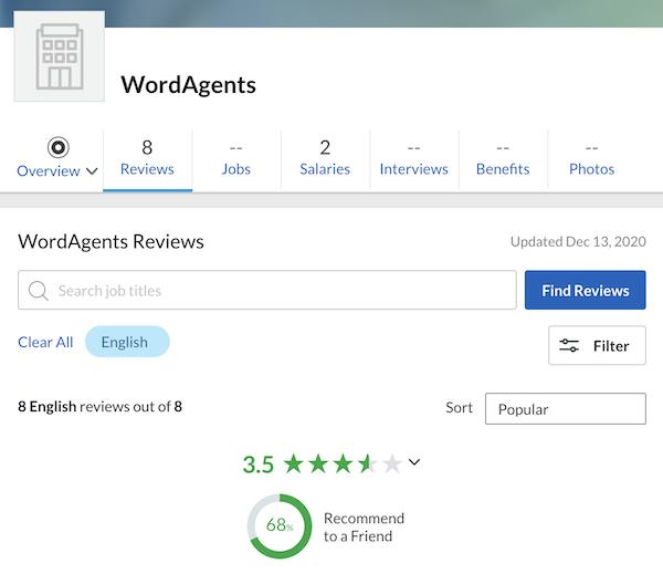 wordagents reviews